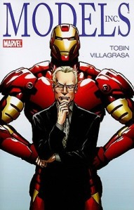 Models Inc cover, Tim Gunn and the Iron Man suit